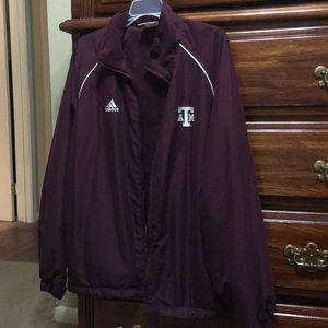 Texas A&M x Adidas jacket